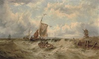 a stiff breeze off the low countries by james burrell