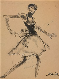 ballet dancer by michail ksenofontovich sokolov