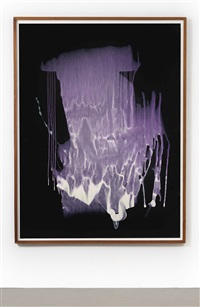 untitled (interferenzbild violett) by sigmar polke