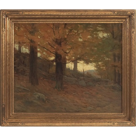 the yellow leaf by charles warren eaton
