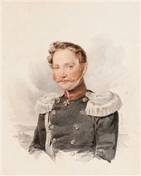 portrait of alexei illarionovich filosofov by alexandr pavlovich bryullov