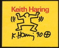 figure by keith haring