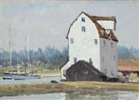 tide mill, woodbridge by hugh boycott-brown