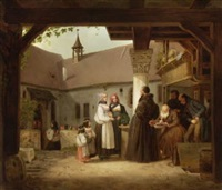 im klosterhof by johann friedrich karl kreul