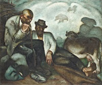 pihenő pásztorok by sandór basilides