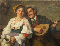 the serenade by adolfo bacci