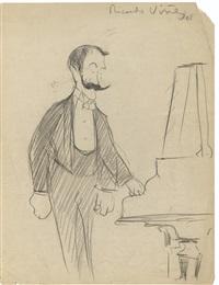 le pianiste ricardo viñes (1875 - 1943) by claude bils
