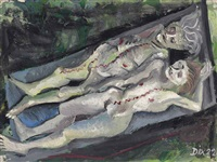 weibliche leichen (anatomie dresden-friedrichstadt) by otto dix