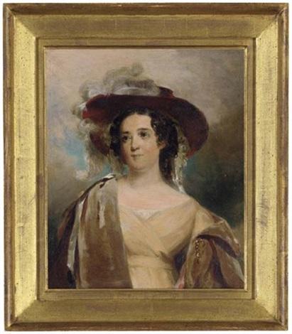 Portrait Of Mrs Nicholas Biddle After Thomas Sully By John Neagle On Artnet