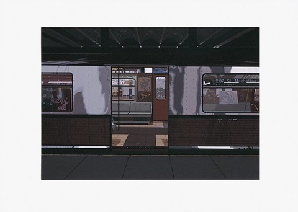 subway no ii by richard estes