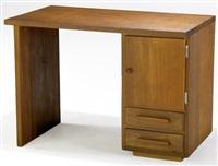 single-pedestal desk by antonin raymond