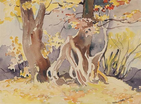 untitled approaching fall no 1 by mildred valley thornton