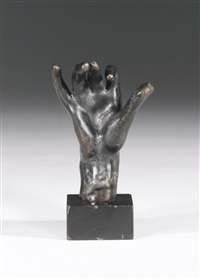 main droite n°13 by auguste rodin