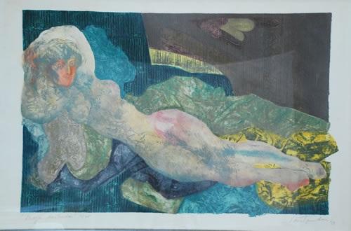 maja desnuda by cristina santander