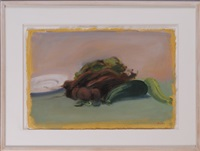 still life with cucumber by paul resika