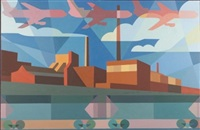 bond investment mural number one by cary smith