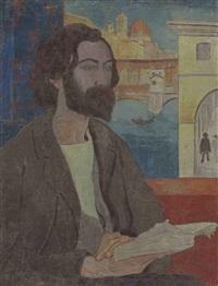 portrait d'émile bernard à florence by paul sérusier