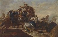 reitergefecht by georg philipp rugendas the elder