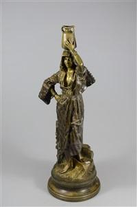 jeune orientaliste by gaston veuvenot leroux
