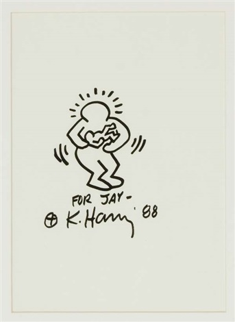 senza titolo by keith haring