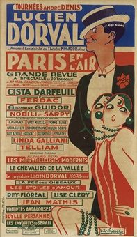 lucien dorval/paris en l'air by gaston girbal
