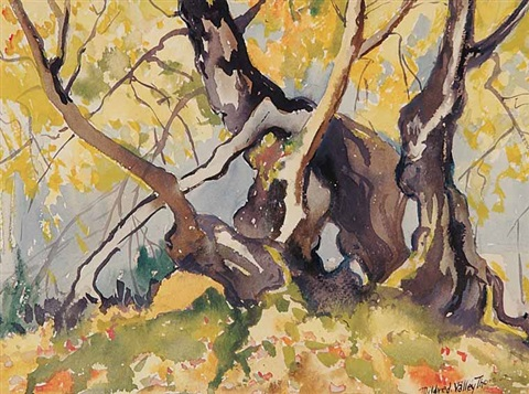 untitled approaching fall no 2 by mildred valley thornton