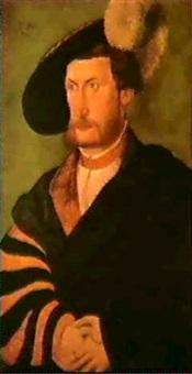 pfalzgraf wolfgang, herzog vonzweibrucken und neuburg (1526 zweibrucken-1569 nexon bei limoges). by peter gertner