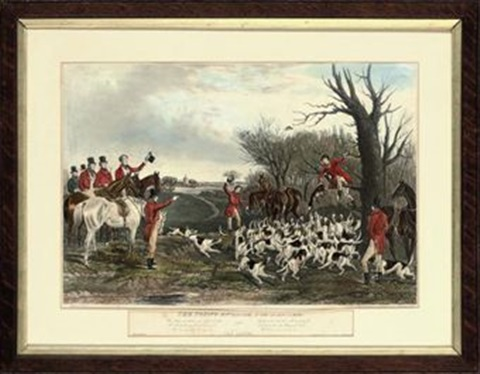 the young english fox hunter breaking cover 3 others 4 works by charles hunt
