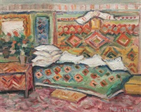 peasant interior by dan bajenaru