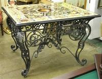 pietra dura table by francesco rigozzi