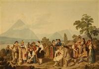 costumes suisses by franz niklaus könig