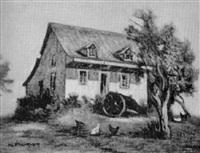 vieille maison à côte de liesse by narcisse poirier