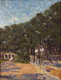 sunken gardens, durban by clément (joseph charles louis) sénèque