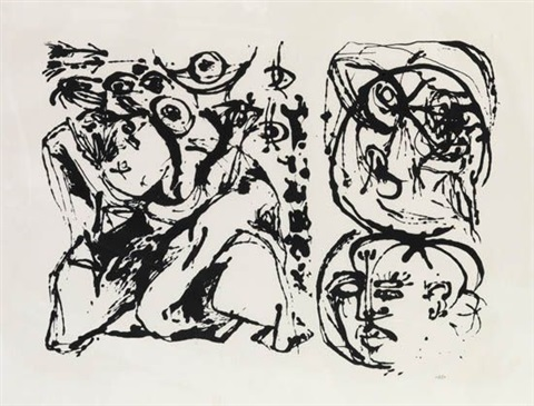 untitled by jackson pollock