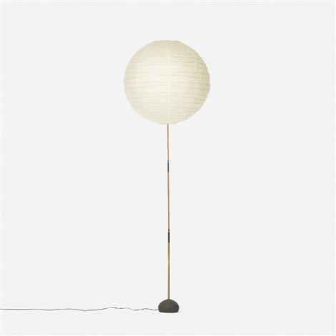Akari floor lamp, model BB-55DD by Isamu Noguchi on artnet