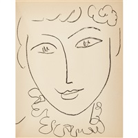 portraits (99 plates) by henri matisse