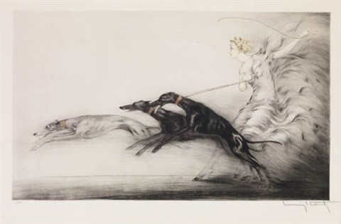 speed by louis icart