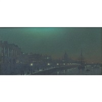 Black Friars Bridge; The Victoria Embankment (2...