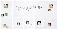 gift - powder (set of 6 works) by chikako hasegawa