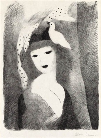 columbine by marie laurencin