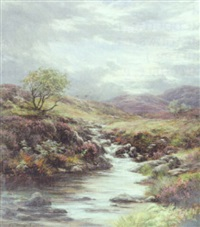 a highland burn by james faed the younger