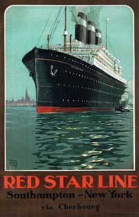 red star line southampton-new york by charles alo (halo)