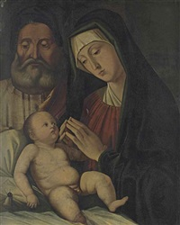 the holy family by jacopo da valenza