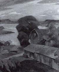 maalaistaloja saaristossa - bondgård i skärgården by werner åström