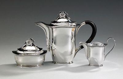 kaffeservis set of 3 by eric rastrom