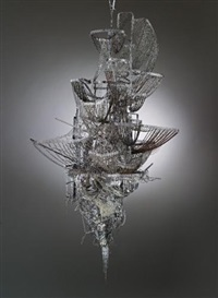 sternbau no. 25 by lee bul