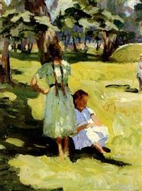 summertime by valentin aleksandrovich lissenkov