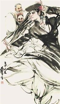 新疆舞蹈 by huang zhou