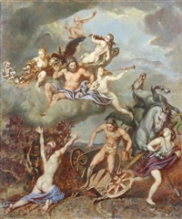 the fall of phaeton by victor hume moody