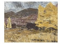 highland in the autumn by yamashita daigoro